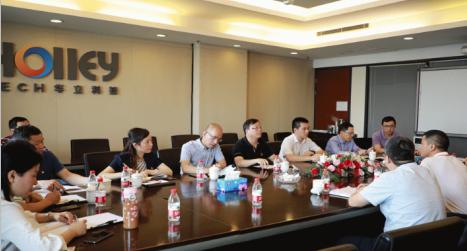 """""""三服务""""工作暖人心:杭州市审计局领导一行莅临jbo体育首页科技"""